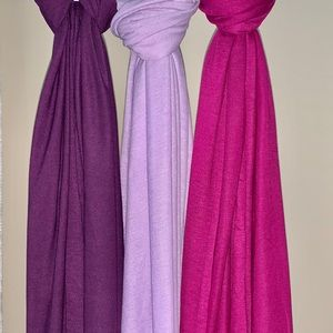 Jersey scarves NWT